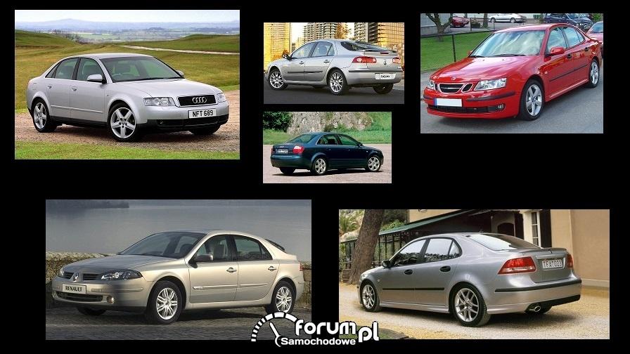 Porównanie: Audi A4 B6, Renault Laguna II, Saab 9-3 II