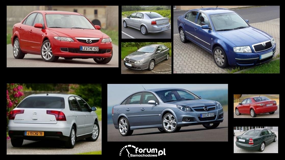 Porównanie: Citroen C5 I, Mazda 6 I, Opel Vectra C, Skoda SupeB I
