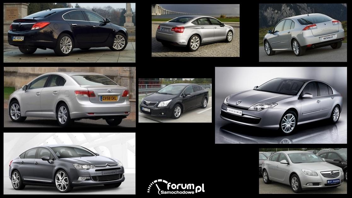 Porównanie: Citroen C5 II, Opel Insignia, Renault Laguna III, Toyota Avensis III