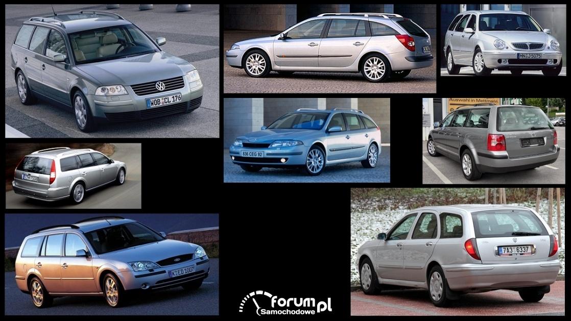 Porównanie: Ford Mondeo mk3, Lancia Lybra, Renault Laguna II, VW Passat B5