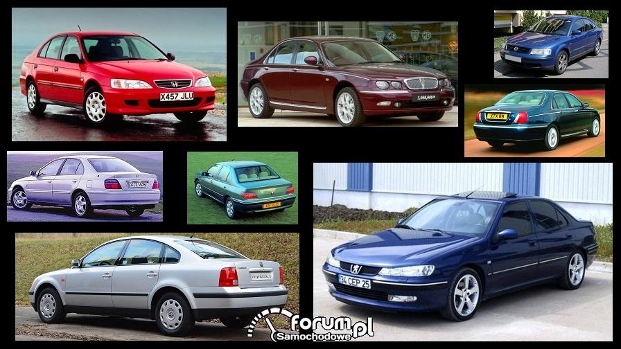 Porównanie: Honda Accord VI, Peugeot 406, Rover 75, VW Passat B5