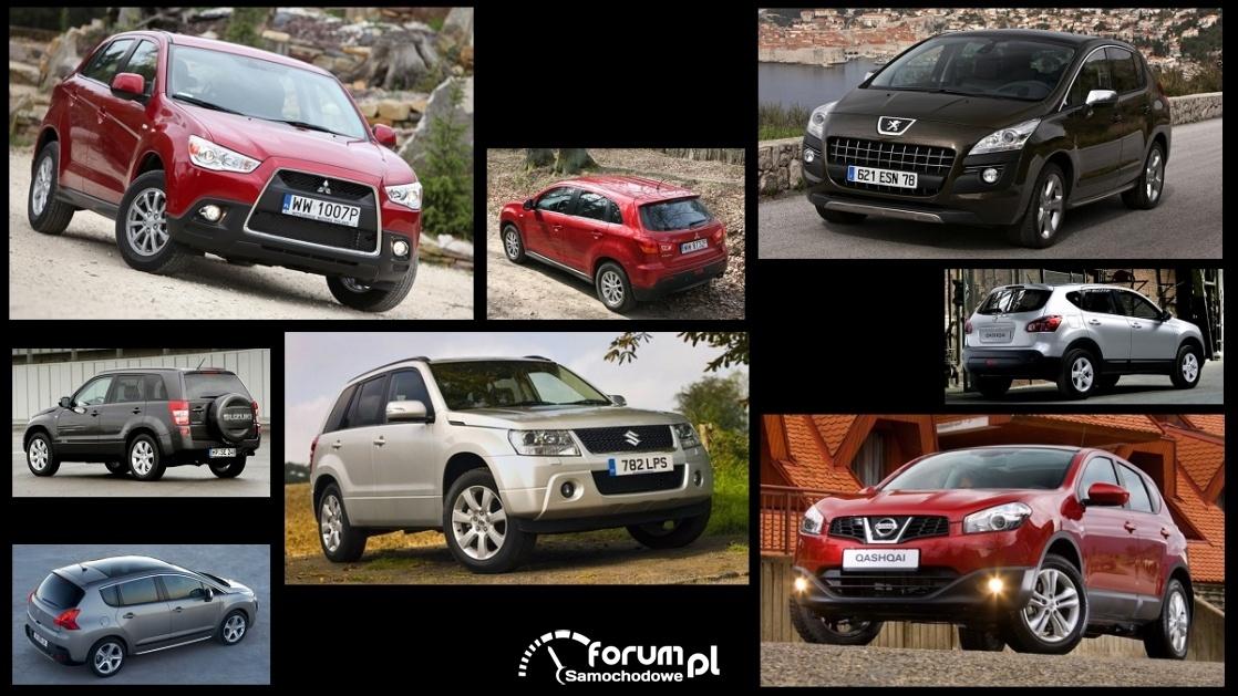 Porównanie: Mitsubishi ASX, Nissan Qashqai I, Peugeot 3008 I, Suzuki Grand Vitara II