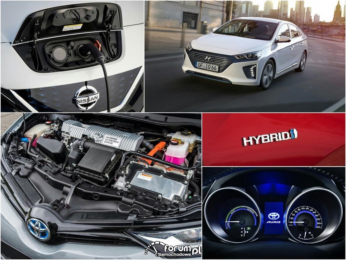 Klasyczne hybrydy, auta hybrydowe plug-in czy samochody elektryczne?