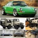 Samochody klasyczne, sportowe, terenowe