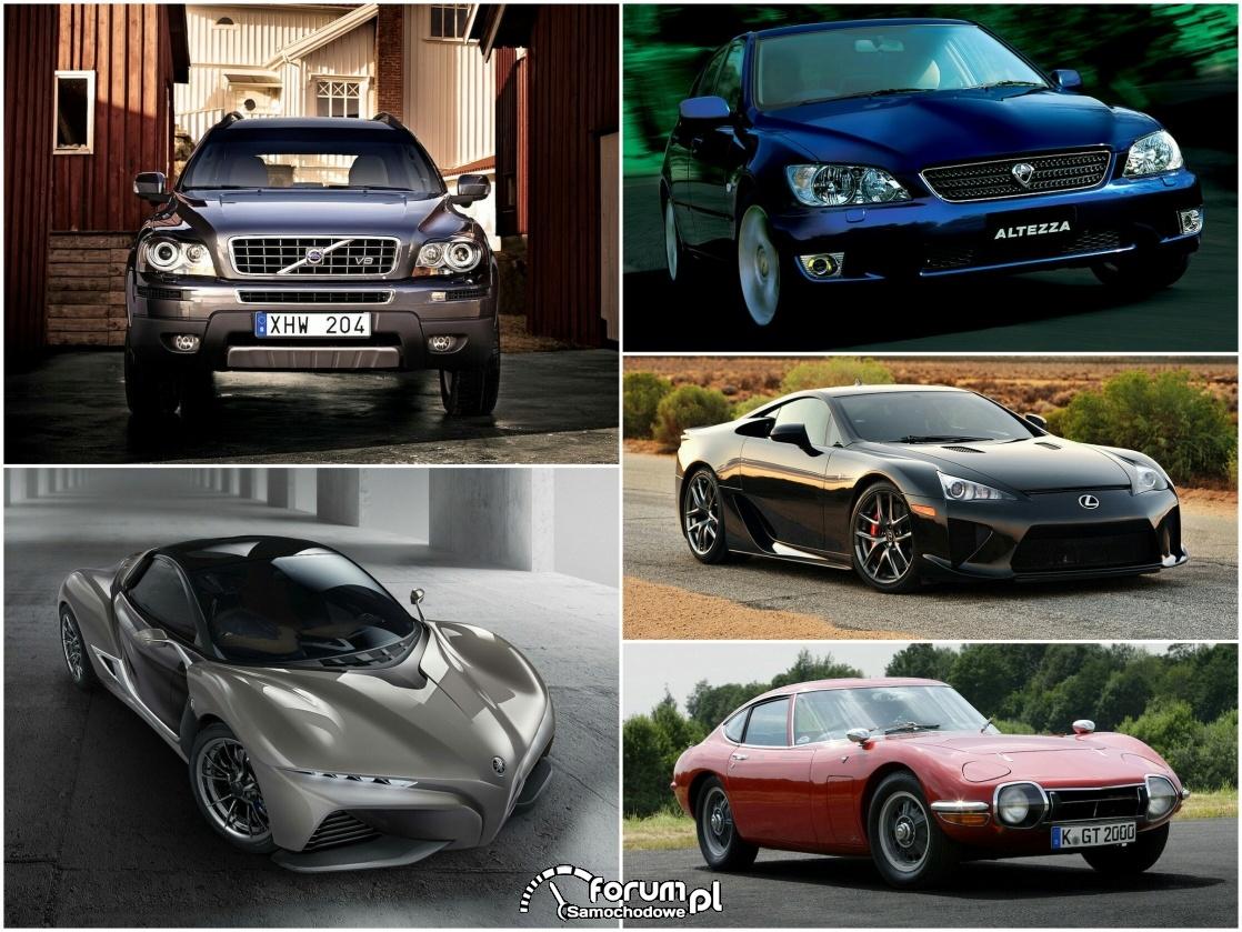 5 niezwykłych aut przy współpracy Yamahy
