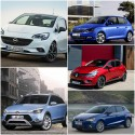 Seat Ibiza, Skoda Fabia, Hyundai i20, Opel Corsa, Renault Clio