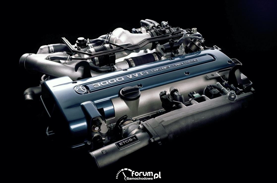 Silnik 2JZ-GTE - Toyota