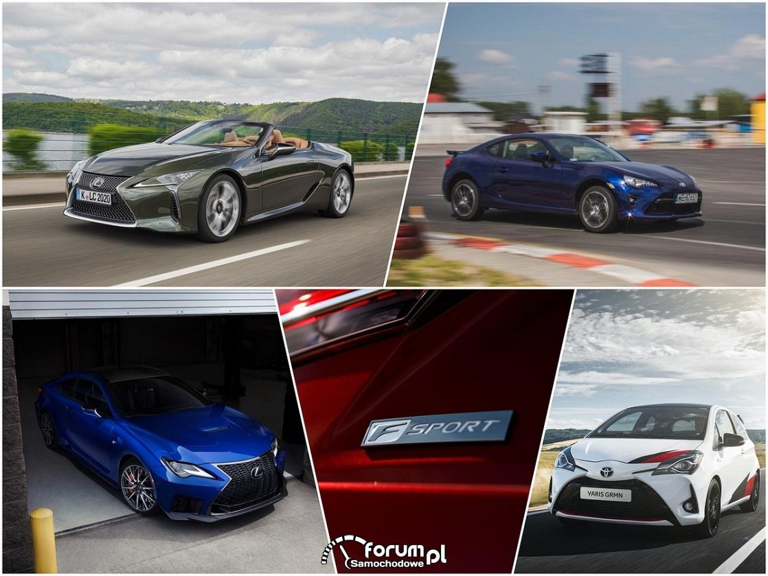 Toyota i Lexus - wersje sportowe
