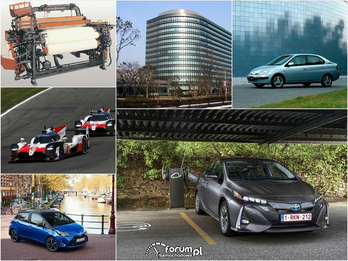 Toyota, samochody