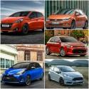 Toyota Yaris, Peugeot 208, Ford Fiesta, VW Polo, Kia Rio