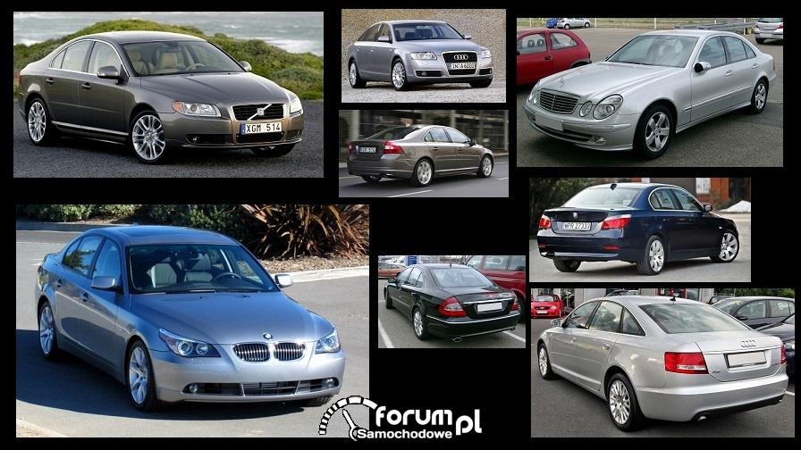 [E] Audi A6 3,0TDI / BMW 530d / Merc E320CDI / Volvo S80 2,4 D5