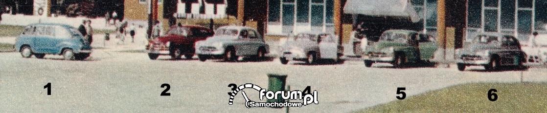 Prośba o pomoc w identyfikacji starych samochodów
