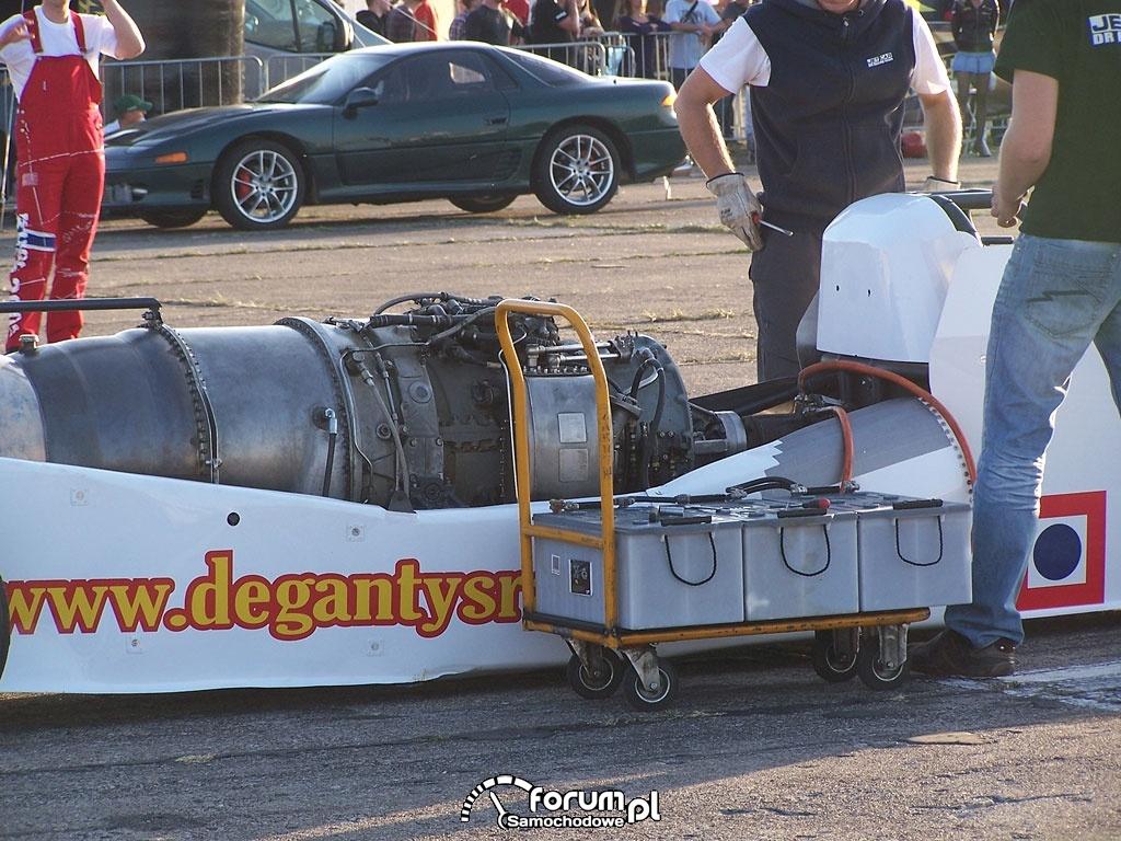 Jet Car - bolid o napędzie odrzutowym