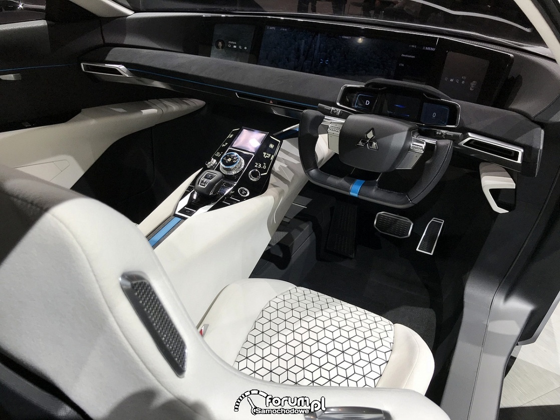 Mitsubishi E-Evolution Concept, wnętrze