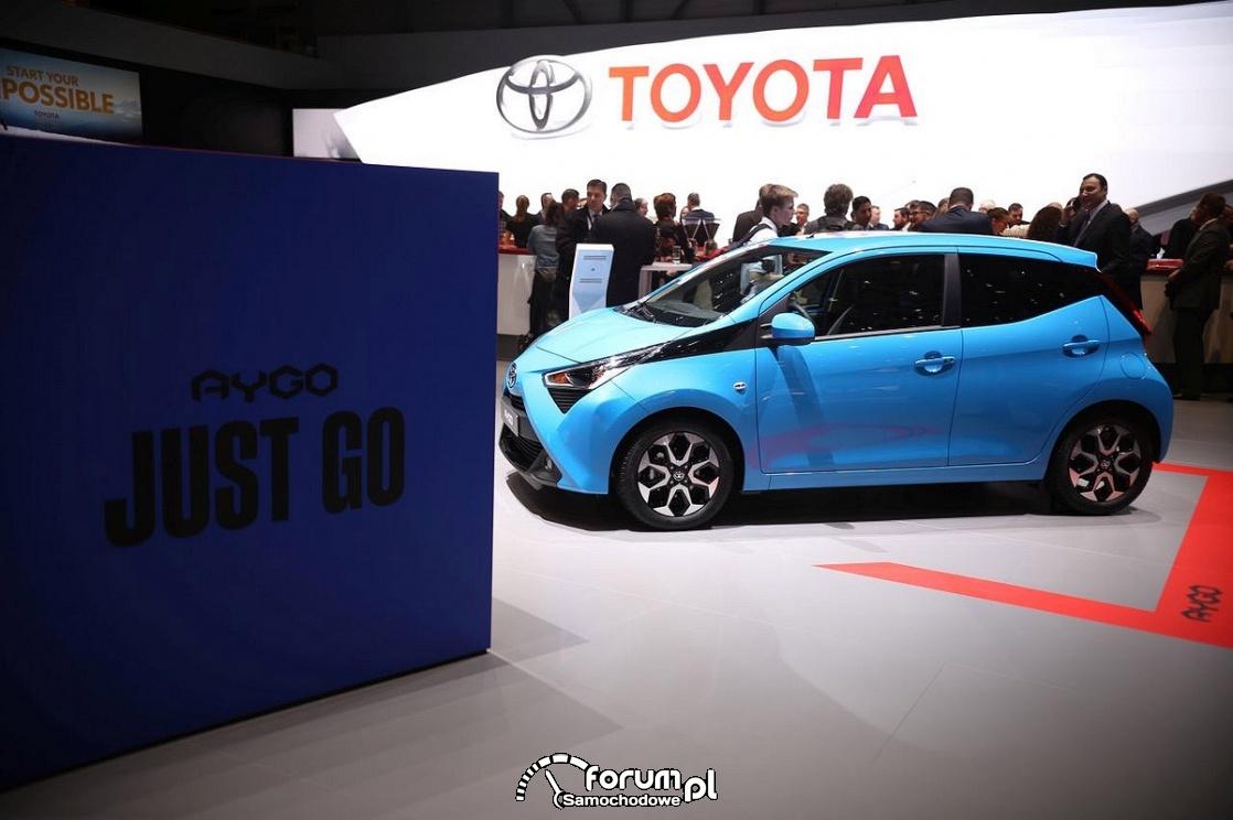 Toyota Aygo, bok