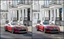 Lexus coupé LC 500, cromwell placet - świat realny vs. wirtualny