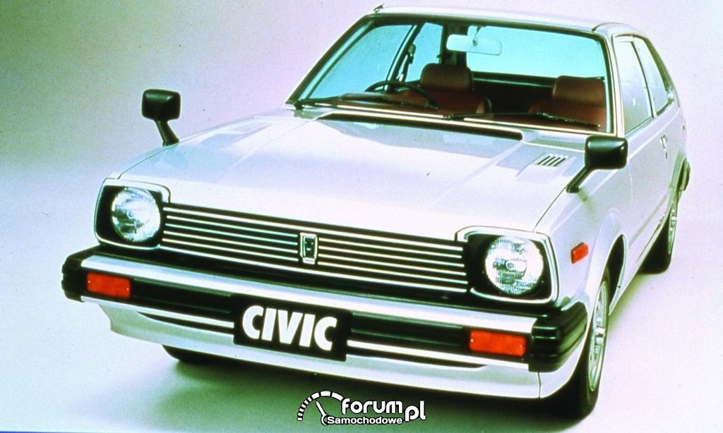 Honda Civic I generacji 3 drzwiowa