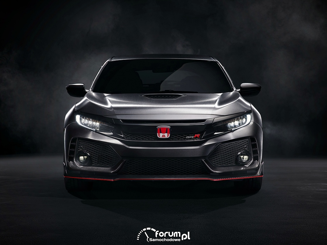 Honda Civic Type R Prototype, przód, 2017