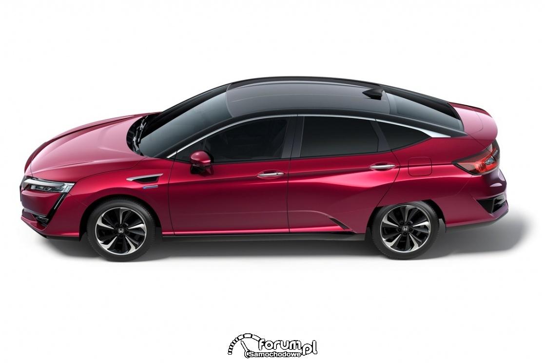 Honda Clarity Fuel Cell, bok