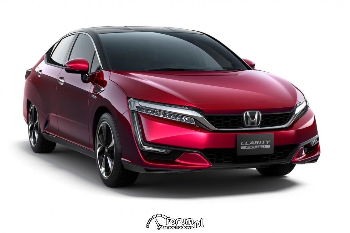 Honda Clarity - najlepszy zasięg bez silnika spalinowego