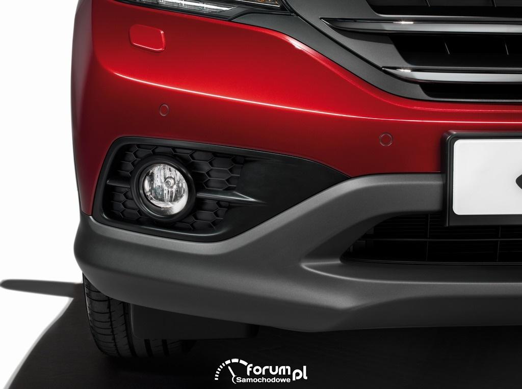 Honda CR-V 2013, halogeny