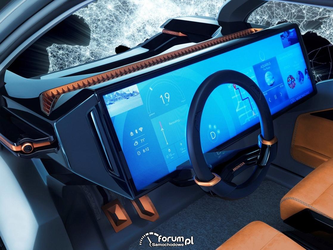 Honda NeuV Concept, wnętre