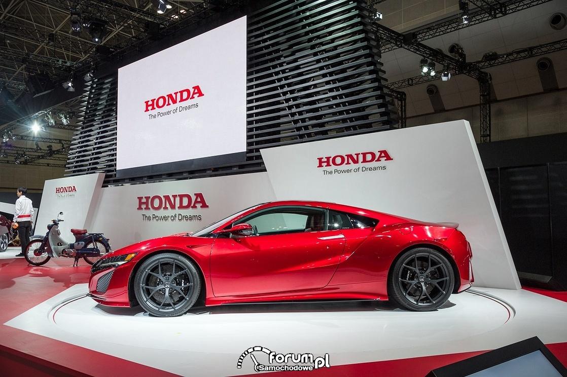 Honda NSX, 2015, bok