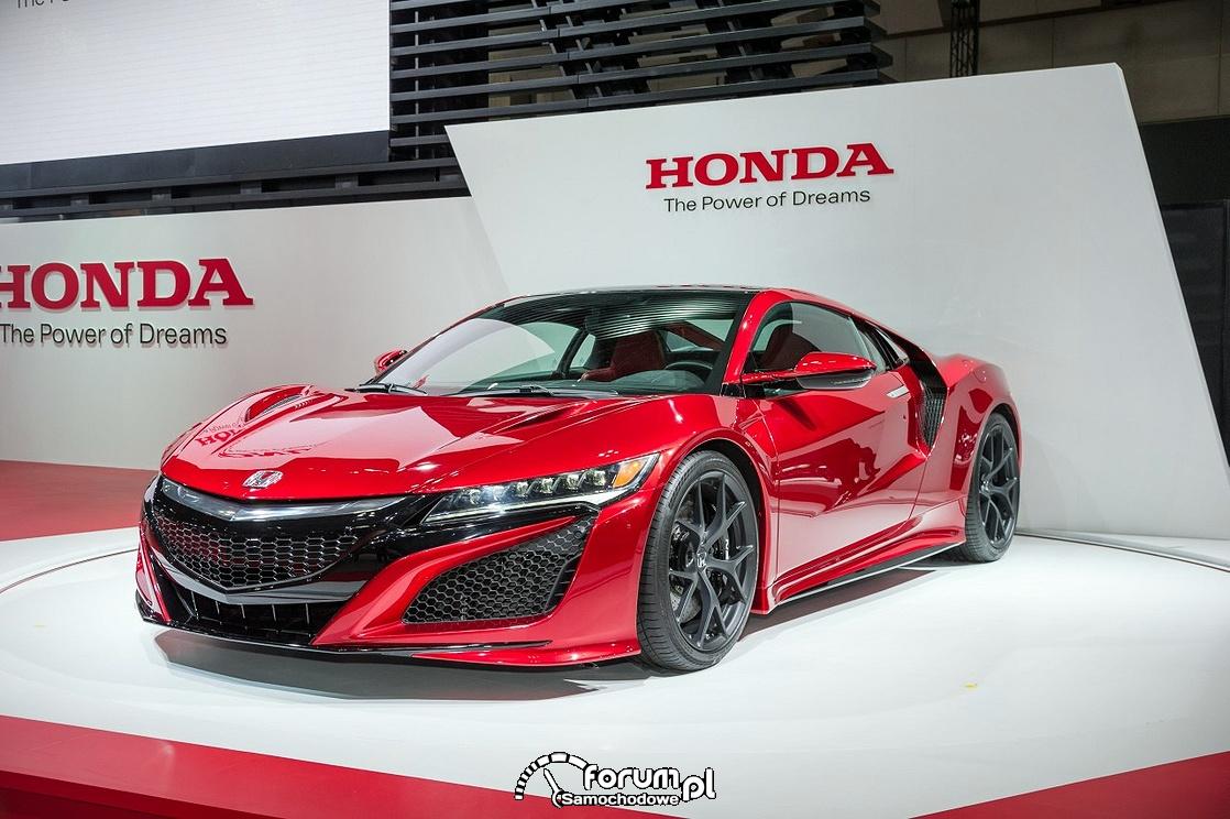 Honda NSX 2015 - druga generacja