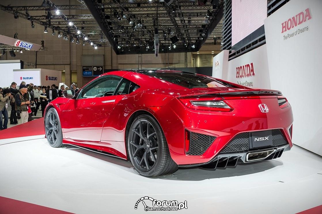 Honda NSX, 2015, tył