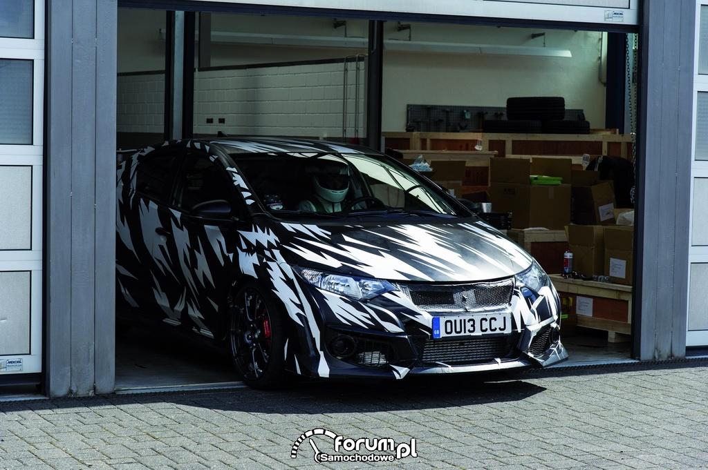 Nowa Honda Civic Type R, przód