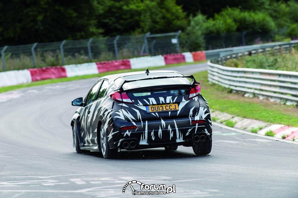 Nowa Honda Civic Type R, tył