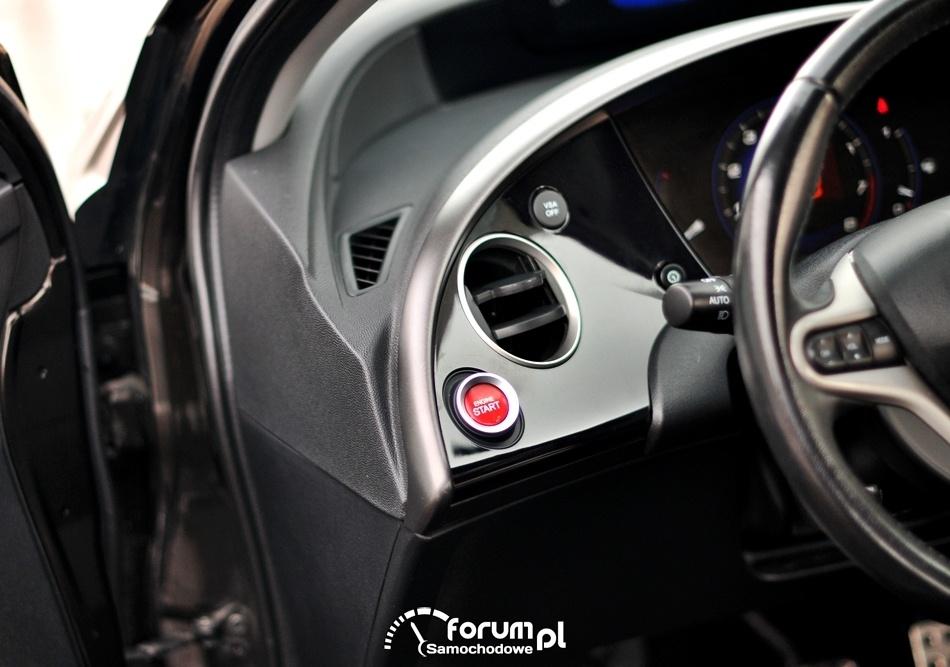 Przycisk Start, Honda Civic UFO