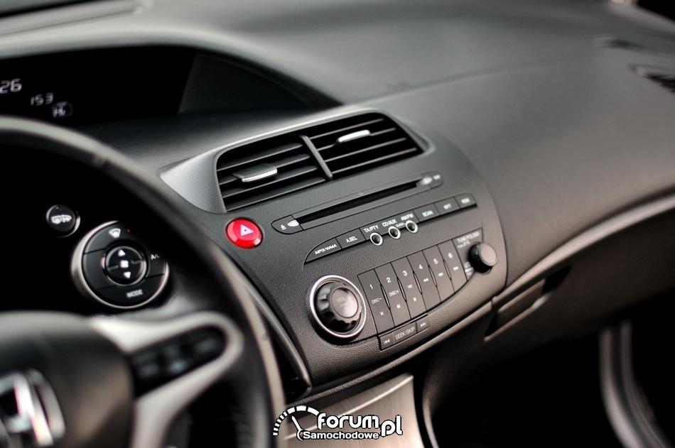 Radio CD, MP3, Honda Civic UFO