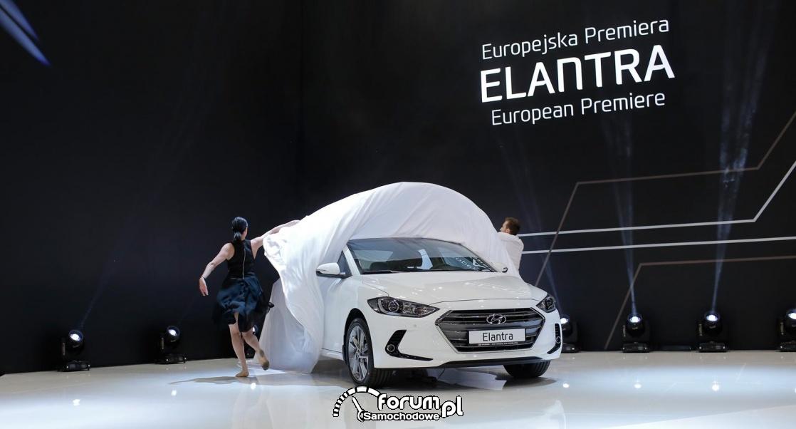 Hyundai Elantra, premierowa odsłona