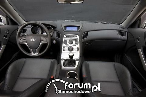 Hyundai Genesis Coupe - wnętrze