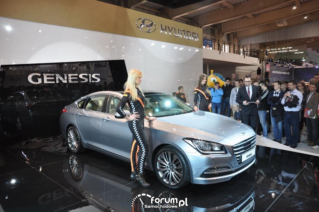 Hyundai Genesis, Motor Show 2014, Poznań