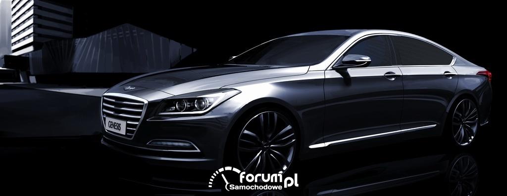 Hyundai Genesis nowej generacji, sedan segmentu Premium