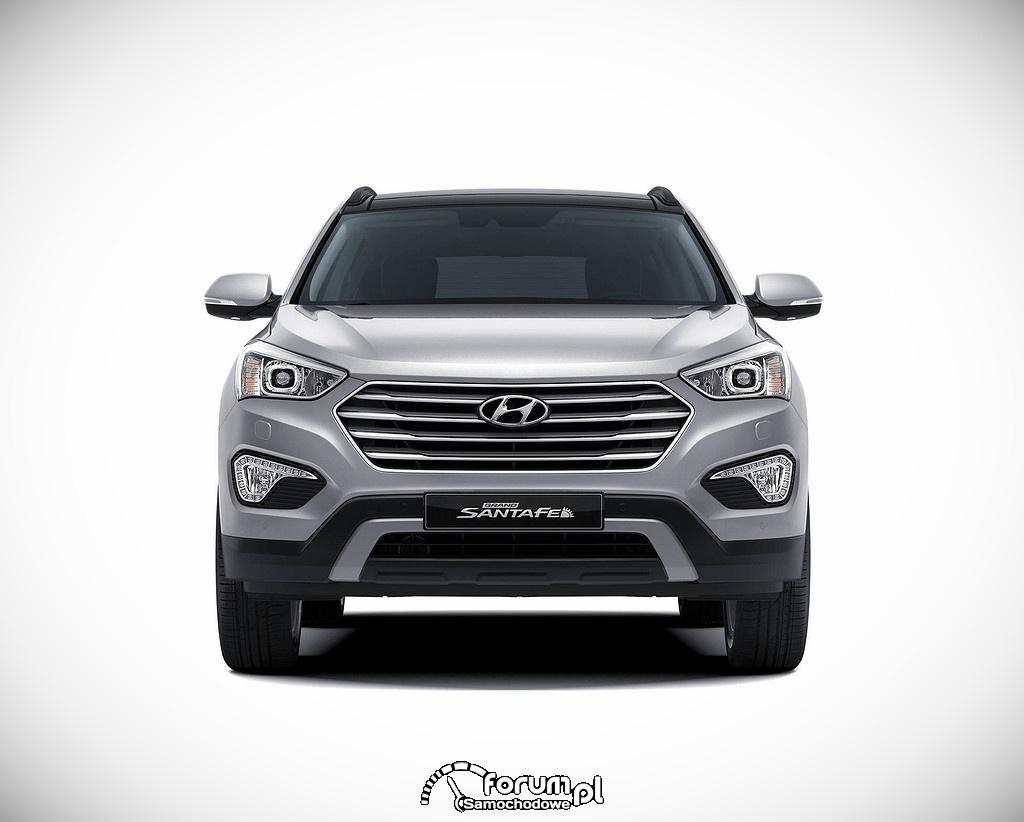 Hyundai Grand Santa Fe, przód