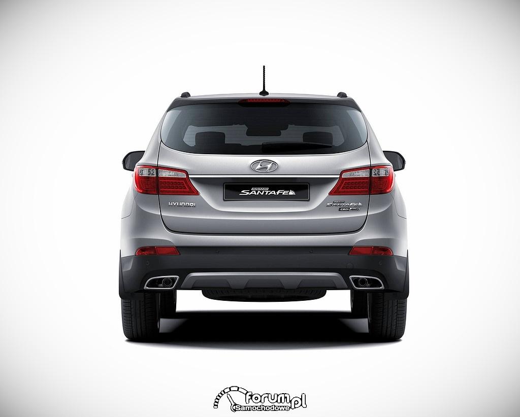 Hyundai Grand Santa Fe, tył
