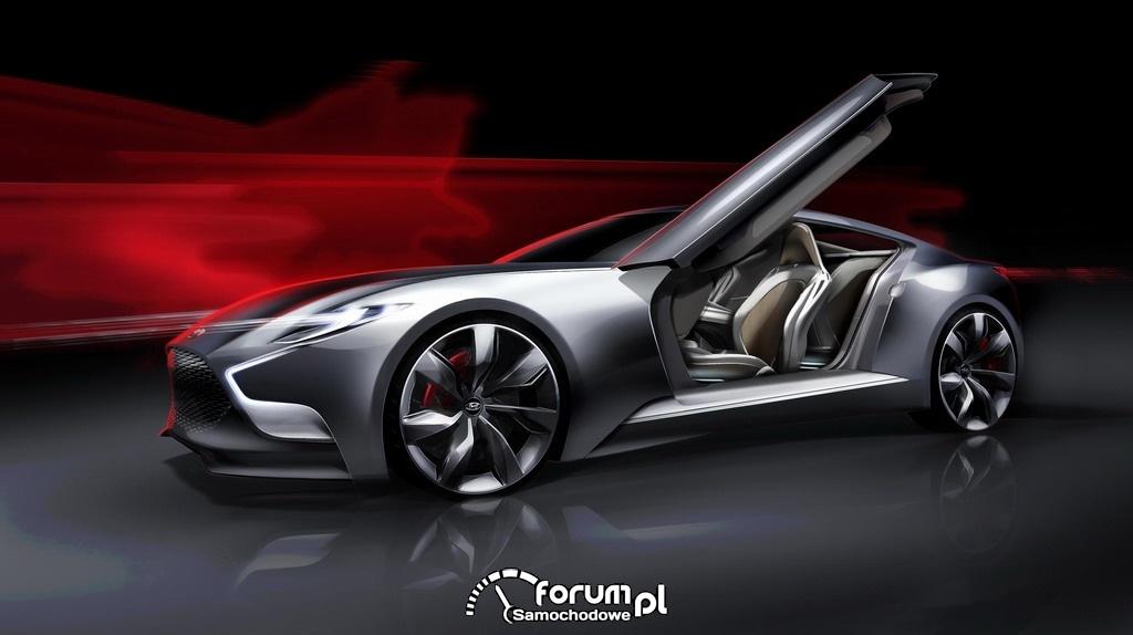 Hyundai HND-9 sportowy samochód typu luksusowe coupe