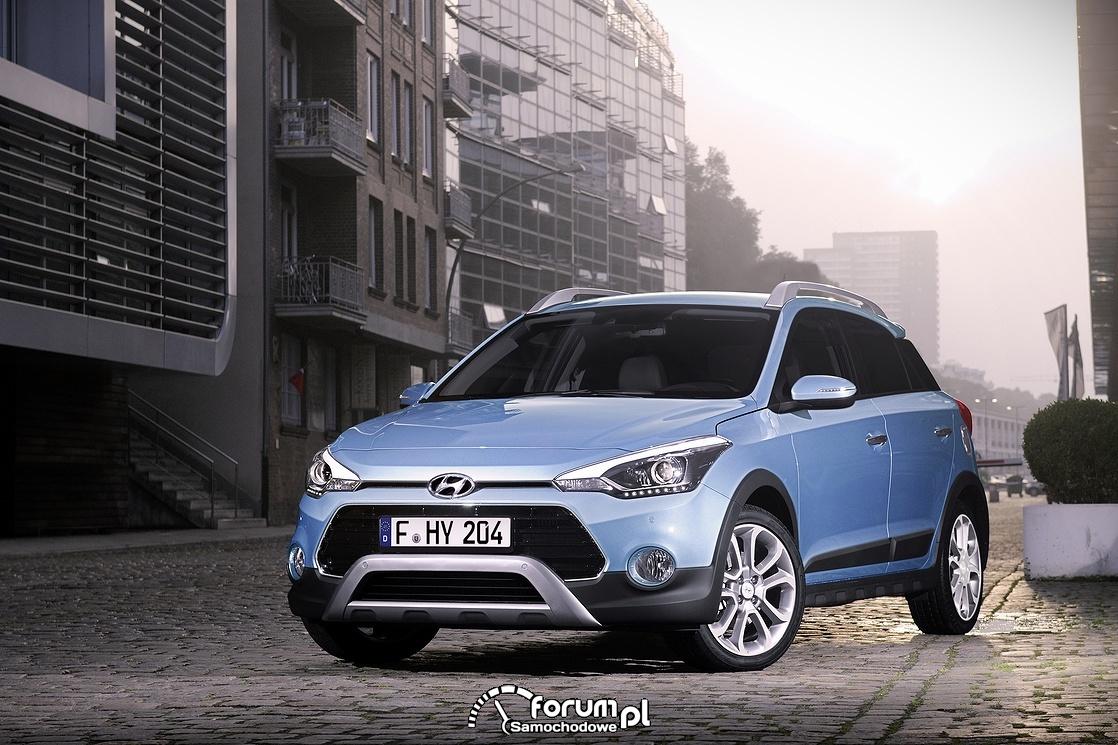 Hyundai i20 Active, przód