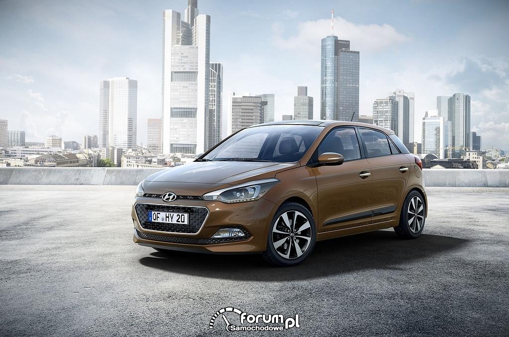 Hyundai i20, przód