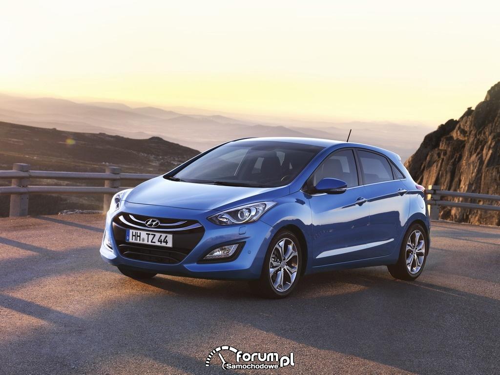 Hyundai i30 2012 z przodu