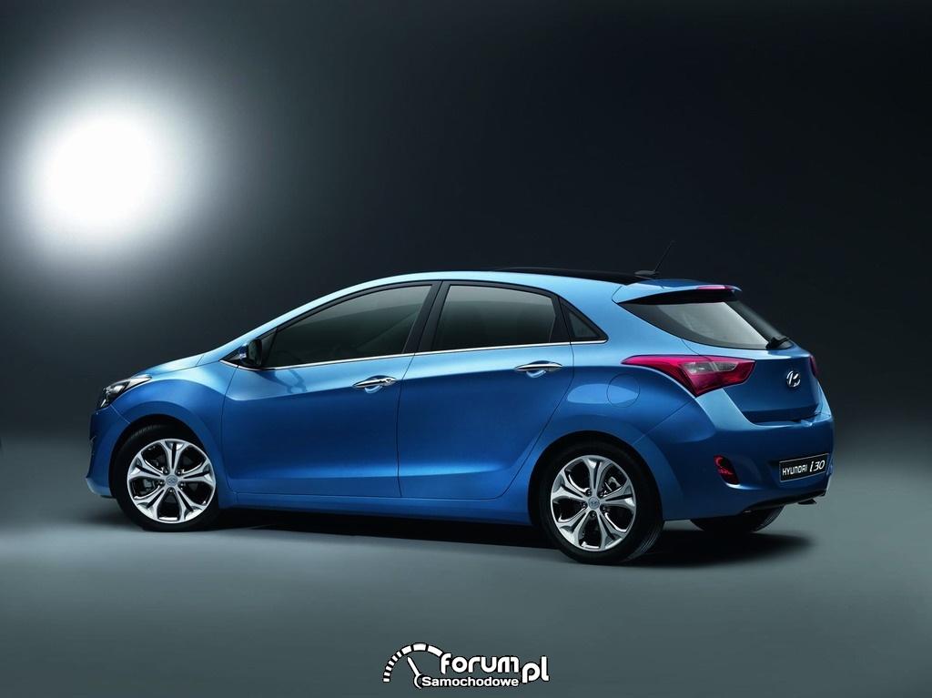 Hyundai i30 2012 z tyłu