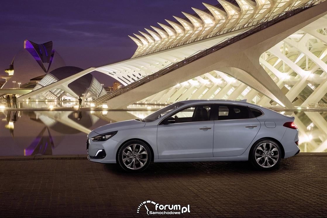 Hyundai i30 Fastback, bok