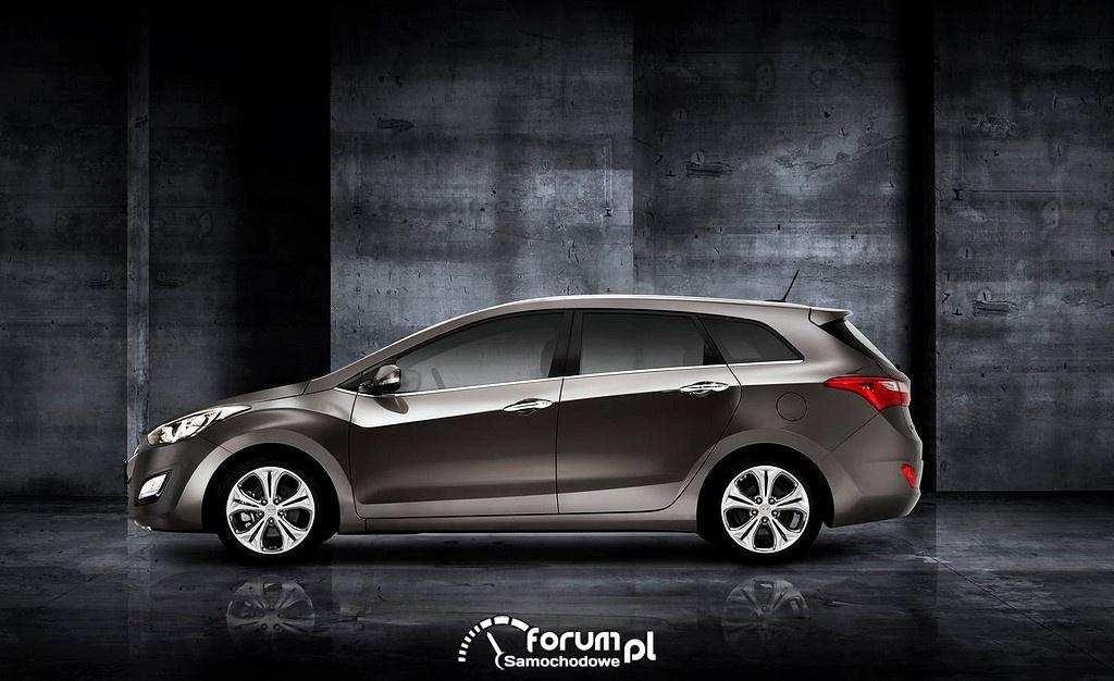 Hyundai i30 wagon, bok