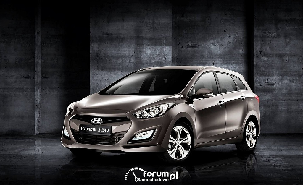 Hyundai i30 wagon, przód