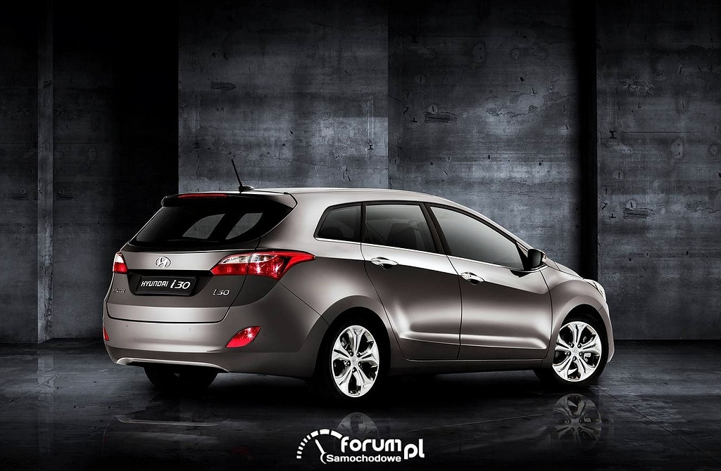 Hyundai i30 wagon, tył