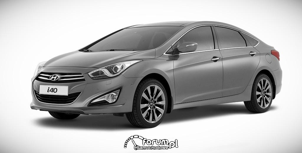 Hyundai i40 sedan, przód
