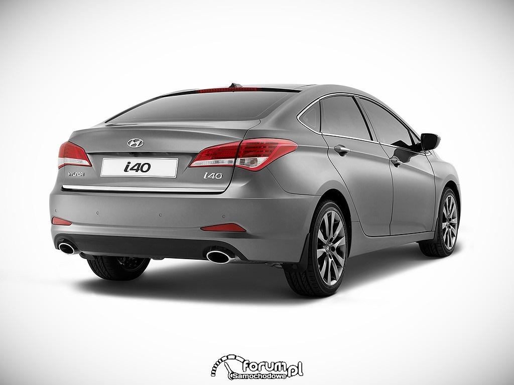 Hyundai i40 sedan, tył